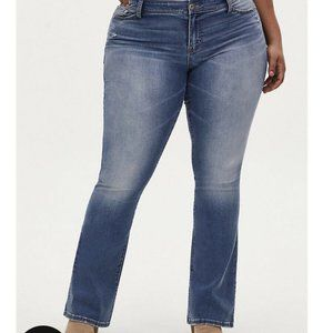 Torrid Mid Rise Slim Boot Cut Super Stretch 30XS